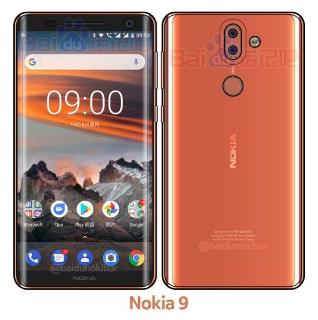 Nokia 9 Quelle Baidu