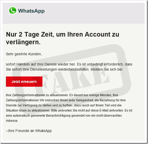 WhatsApp Fake Bild mimikama at