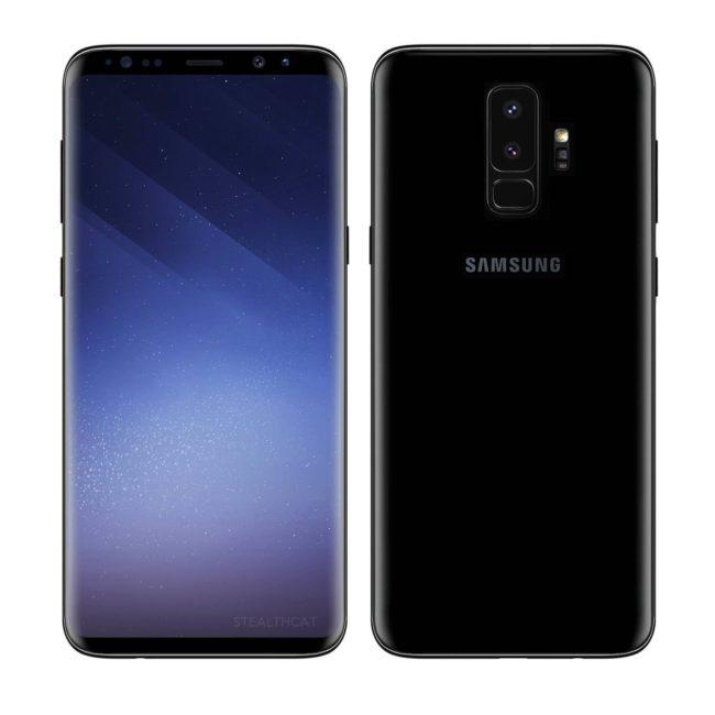 Angebliches Galaxy S9 Plus Bild clien net