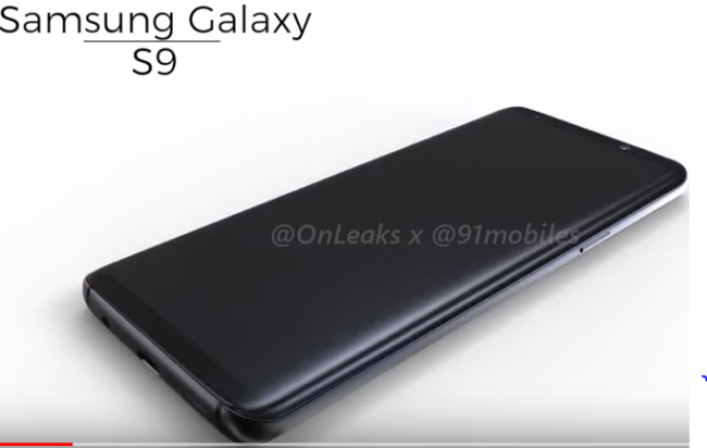 Galaxy S9 im Video OnLeaks