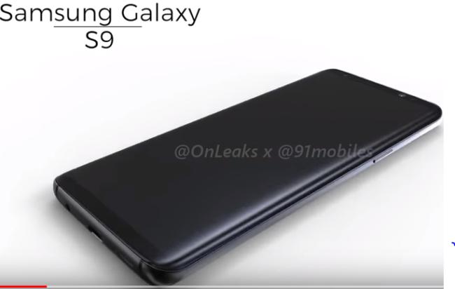 Galaxy S9 im Video OnLeaks