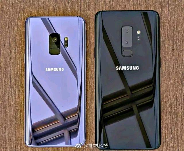 Angebliches S9 und S9 Plus Bild Sammobile
