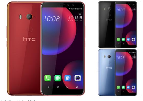 HTC U11 EYEs Bild Evleaks über Twitter