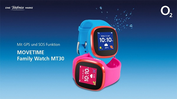 O2 Movetime Family Watch Mt30 Mit Ortungs Und Sos Funktion