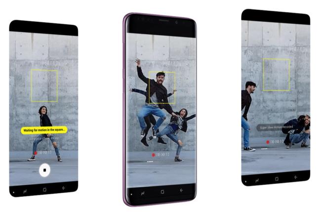 Galaxy S9 Kameras mit Super Slow Motion
