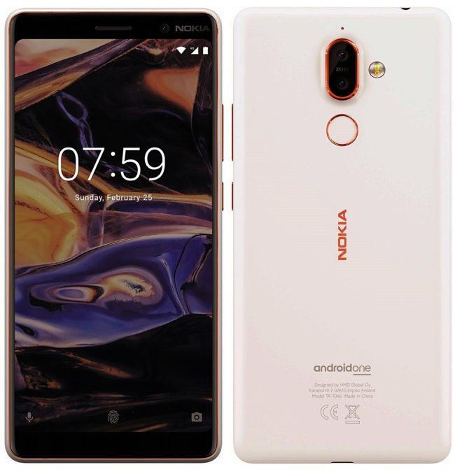 Mutmaßliches Nokia 7+ Bild Evan Blass über Twitter