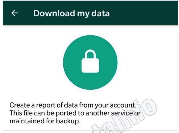 WhatsApp mit Datenkontrolle Bild WABetaInfo über Twitter