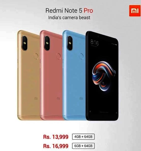 Xiaomi Redmi Note 5 Preise