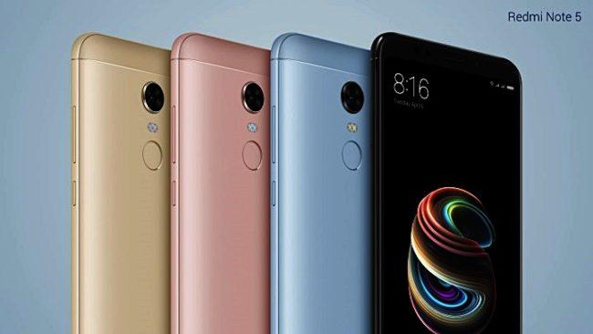 Xiaomi Redmi Note 5 Quelle Hersteller