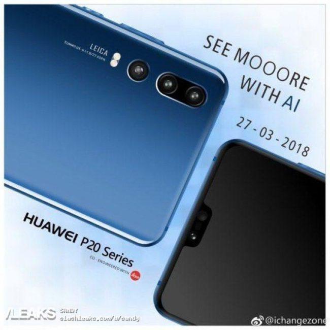 Huawei P20 Serie Bild Slashleaks