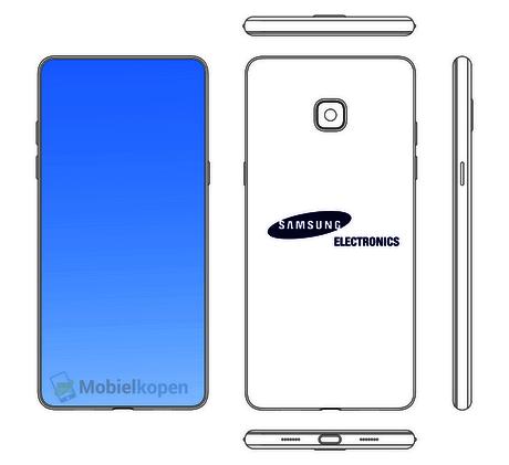 Galaxy mit 99 Prozent Display Bild Mobiekopen