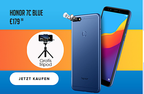 Honor 7c mit Extra HiHonor Store