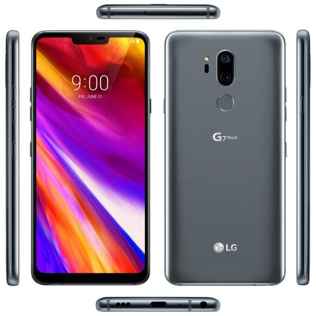LG G7 ThinQ Bild Evan Blass über Twitter