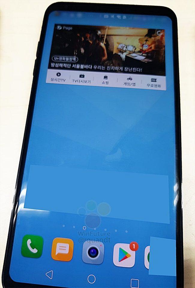 LG G7 ThinQ Bild R.Quandt über Twitter