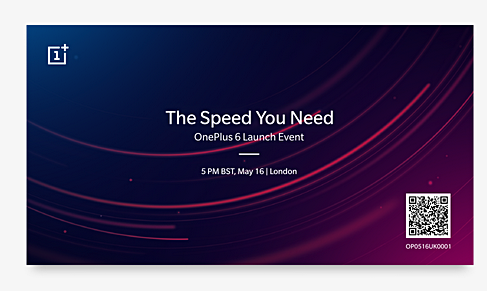 OnePlus 6 The Speed You Need Event