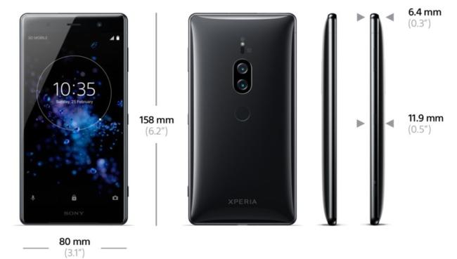 Sony Xperia XZ 2 Premium Hersteller