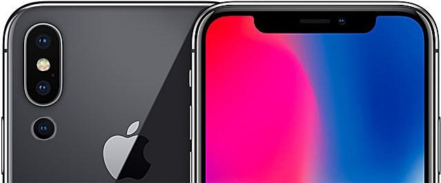 iPhone X Mockup mit Triplekamera Bild MacRumors