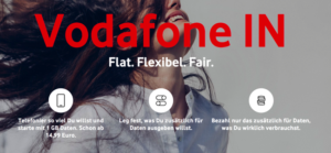 Vodafone IN: Baukastentarif mit bis zu 16 GB Volumen [Update]