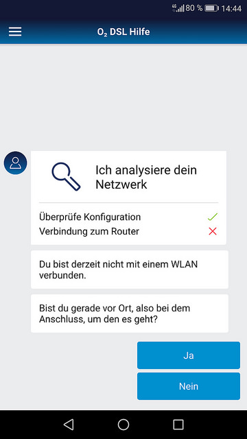 O2 Hilfe App