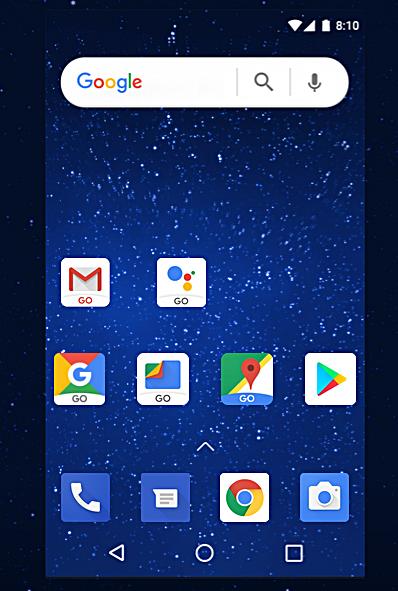 Android Oreo 8.0 Go Apps Bild Android com