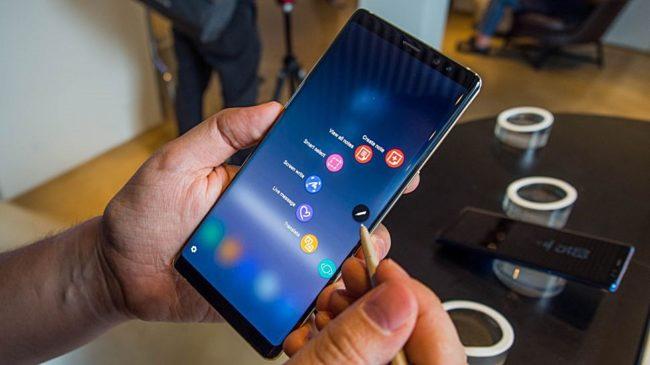 Angebliches Galaxy Note 9 Bild Techradar