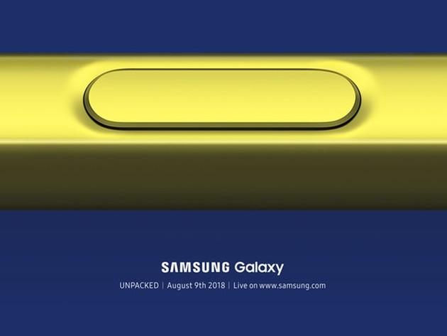 Galaxy Note 9 Unpacked Event Bild Samsung