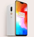 OnePlus 6 in Silk White
