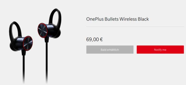 OnePlus Bullets Wireless Kopfhörer