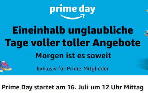 Prime Day bei Amazon ab Montag