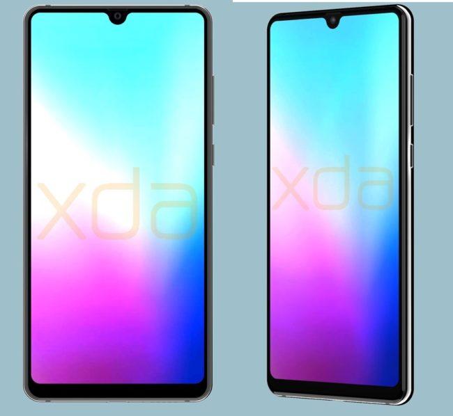 Huawei Mate 20 Renderbilder Quelle XDA Developers