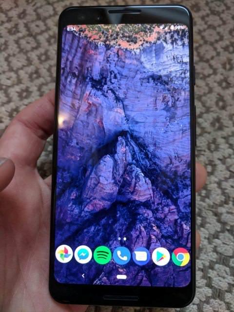 Mutmaßliches Pixel 3 Bild Reddit