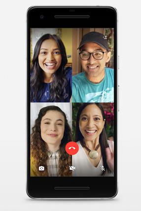 WhatsApp Sprach-und Videoanrufe für Gruppen
