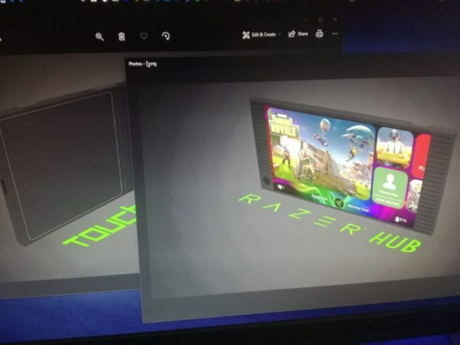 Angebliches Razer Phone 2 Bild EvLeaks