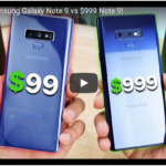 Goophone Note 9 vs Galaxy Note 9