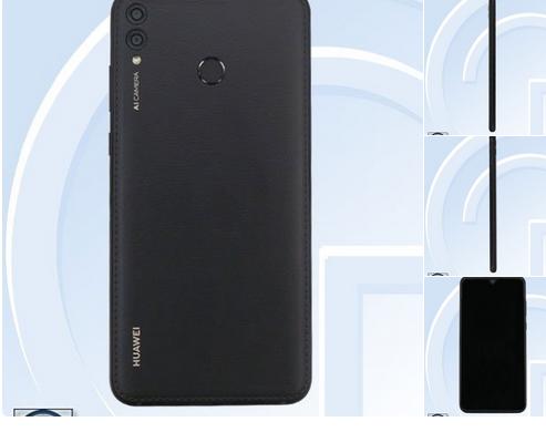 Neues Huawei Smartphone Bild R.Quandt und TEENA über Twitter