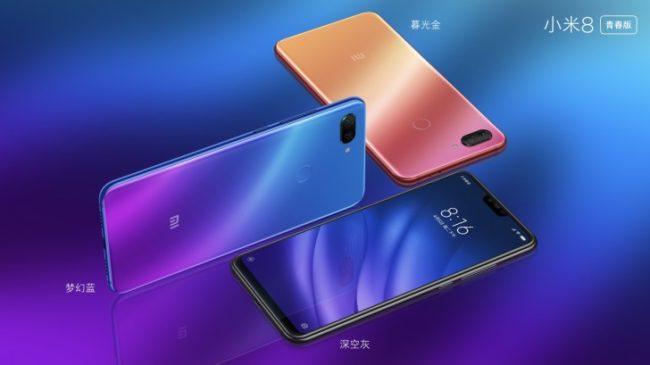 Xiaomi Mi 8 Pro und lite Bild gsmarena