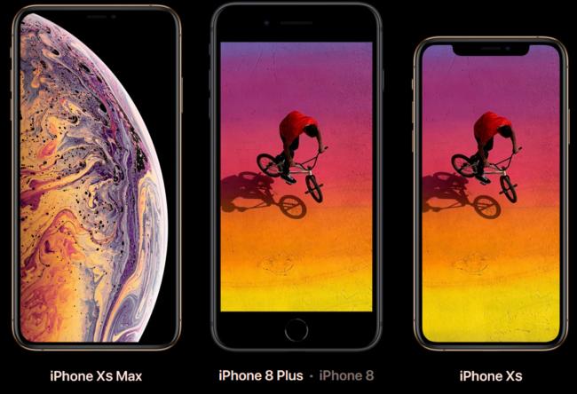 iPhone Vergleich Bild Apple