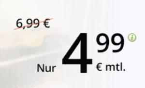 winSIM LTE Allnet-Flat mit bis zu 10 GB ab mtl. 4,99 €