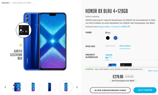 Honor 8X bestellen