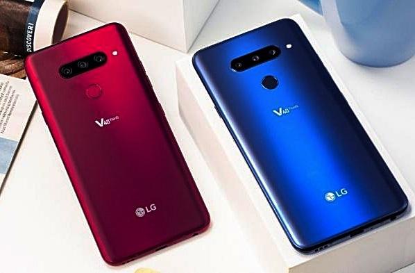 LG V40 ThinQ Bild Hersteller