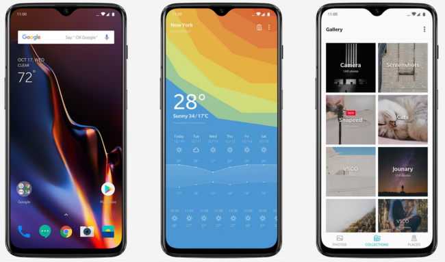 OnePlus 6T mit Mini-Notch
