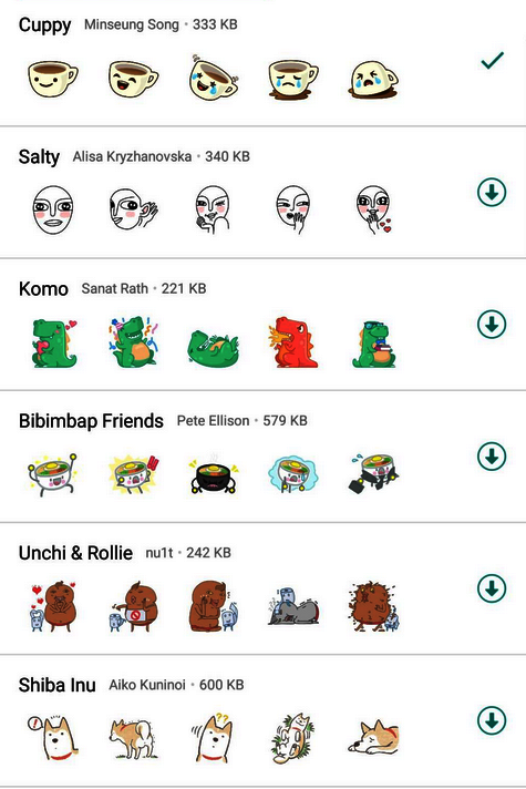 WhatsApp Sticker Bild Techbook. de