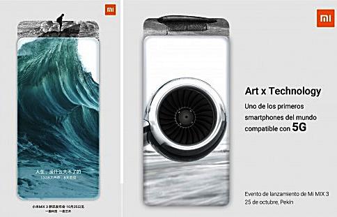 Xiaomi Mi Mix 3 mit 5G Teaser von Xiaomi Facebook und gsmarena